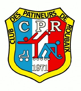 Club Des Patineurs De Roubaix Shield Logo