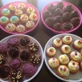 Cakes Baked by parents for Bingo Night Fundraising