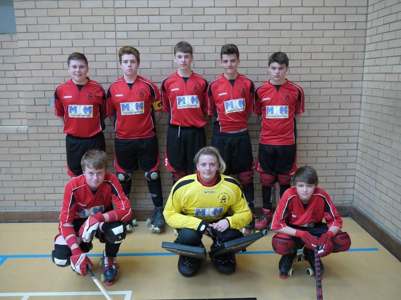 King's Lynn u17's EC League Champions 2013/14