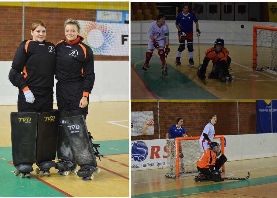 Lynn Goalkeepers at the Ladies World Championships