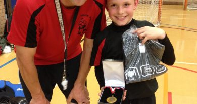 Alfie Poppy KLRHC Level 2 Player of the Month April 2016