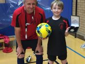 Thomas Ess KLRHC Player of the Month May 2016 with Coach Andy Horn