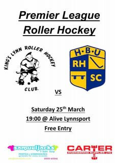 Premier League: King's Lynn RHC v HBU